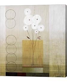 "Metaverse Circles I by Pablo Esteban Canvas Art, 25"" x 28"""