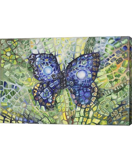 """Metaverse Butterfly Disguise by Charlsie Kelly Canvas Art, 28.75"""" x 20"""""""