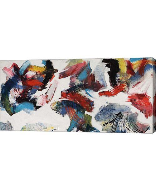 """Metaverse Pensieri in Un Interno Detail by Nino Mustica Canvas Art, 32"""" x 16"""""""