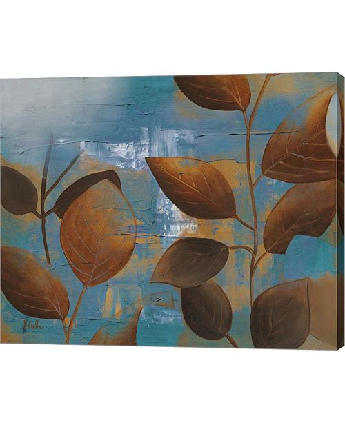 "Metaverse Eco Blue II by Patricia Pinto Canvas Art, 24.25"" x 20"""
