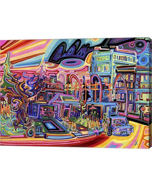 """Metaverse Dusk by Josh Byer Canvas Art, 26.5"""" x 20"""""""