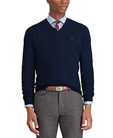 Men's Big & Tall Washable Merino Wool Sweater