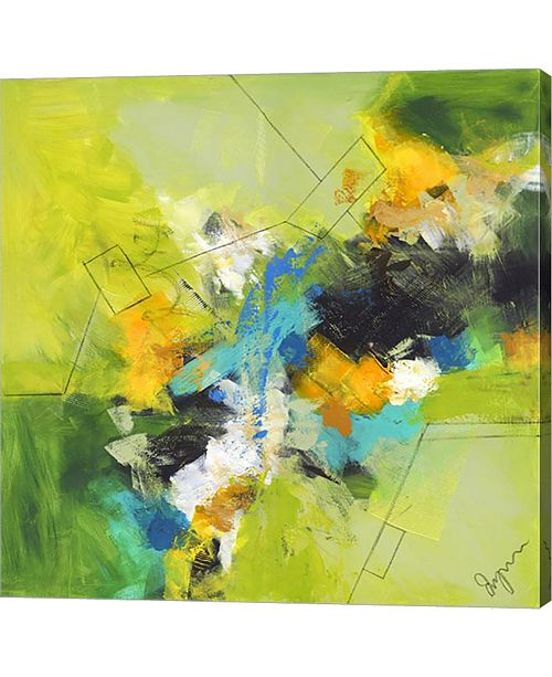 "Metaverse Myrrhis Odorata IV by Lynn Canvas Art, 24"" x 24"""