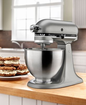 Kitchenaid Classic Plus 45 Qt Stand Mixer kitchenaid ksm75sl 4.5 qt. classic plus stand mixer - electrics