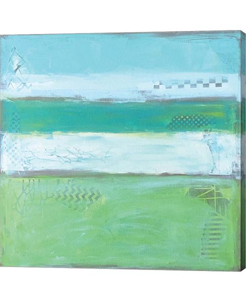 "Metaverse Sea Glass IV by Leslie Saeta Canvas Art, 24"" x 24"""