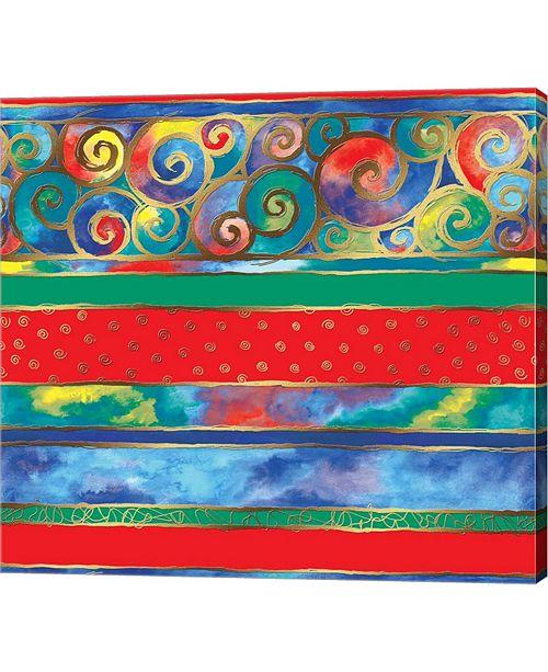 "Metaverse Rainbow by Stessi Canvas Art, 26"" x 24"""