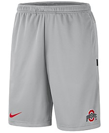 Nike Men's Ohio State Buckeyes Dri-FIT Coaches Shorts