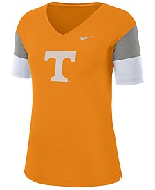 Nike Women's Tennessee Volunteers Breathe V-Neck T-Shirt