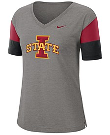Women's Iowa State Cyclones Breathe V-Neck T-Shirt