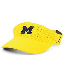 Jordan Michigan Wolverines Sideline Visor