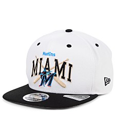 New Era Miami Marlins Retro Bats 9FIFTY Cap