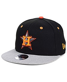 Boys' Houston Astros Lil Orange Pop 9FIFTY Cap