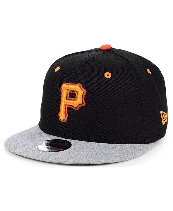 New Era Boys' Pittsburgh Pirates Lil Orange Pop 9FIFTY Cap
