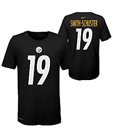 Nike Big Boys Juju Smith-Schuster Pittsburgh Steelers Pride Name and Number T-Shirt