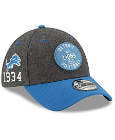 New Era Detroit Lions On-Field Sideline Home 39THIRTY Cap