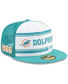 Miami Dolphins On-Field Sideline Home 59FIFTY-FITTED Cap