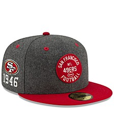 San Francisco 49ers On-Field Sideline Home 59FIFTY-FITTED Cap