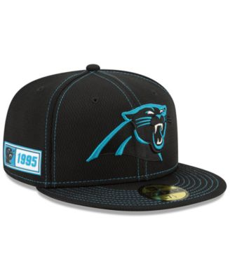 NEW ERA 59FIFTY FITTED NFL ON FIELD CAROLINA PANTHERS Black