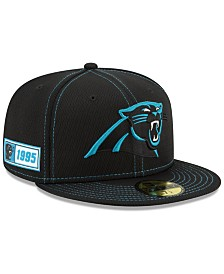 New Era Carolina Panthers On-Field Sideline Road 59FIFTY-FITTED Cap