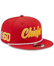 Kansas City Chiefs On-Field Sideline Home 9FIFTY Cap