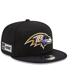 New Era Baltimore Ravens On-Field Sideline Road 9FIFTY Cap