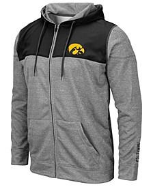 Men's Iowa Hawkeyes Nelson Full-Zip Hooded Sweatshirt