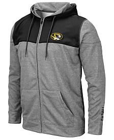 Colosseum Men's Missouri Tigers Nelson Full-Zip Hooded Sweatshirt