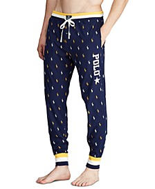 Men's Star Logo Pajama Joggers, Created for Macy's