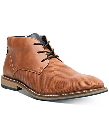 Steve Madden Men's Suodo Dress Casual Chukka Boots