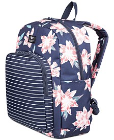 Roxy Winter Waves Printed Backpack