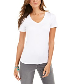 Style & Co V-Neck T-Shirt, Created For Macy's