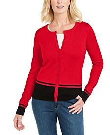 Colorblocked Cardigan, Created for Macy's
