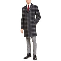 Deals on Tommy Hilfiger Mens Modern-Fit Performance Addison Overcoat
