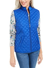 Sport Quilted Puffer Vest, Created For Macy's