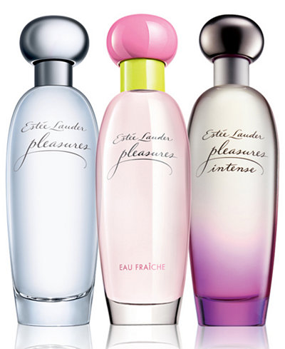 Estée Lauder pleasures - Sheer to Intense Perfume Collection