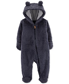 Baby Boys Sherpa Hooded Bunting