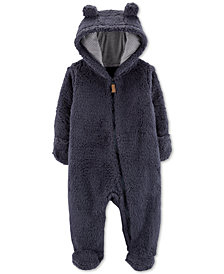 Carter's Baby Boys Sherpa Hooded Bunting