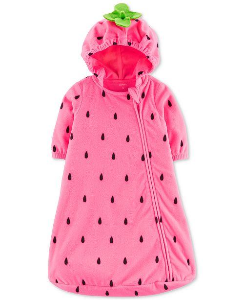 Carter's Baby Girls Strawberry Sleep Bag