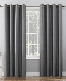 "Sun Zero Duran 50"" x 95"" Textured Thermal Blackout Curtain"