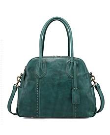 Retro Leather Hobo Bag