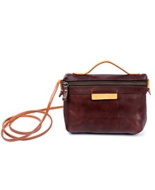 Pome Leather Crossbody Bag