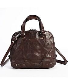 Cedar Leather Crossbody Bag