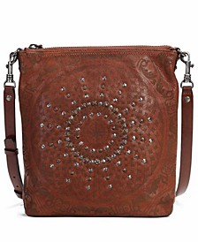 Stars Align Leather Crossbody Bag