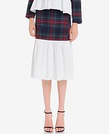 Tartan Combo Skirt