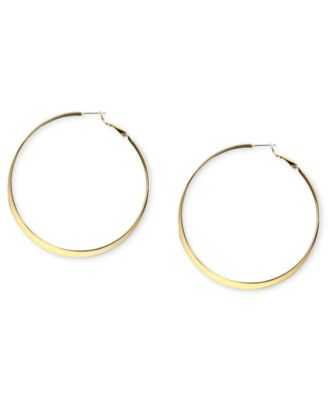 Image of Nine West Earrings, Hoop Earrings
