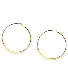 Nine West Earrings, Hoop Earrings