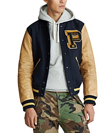 Men's Wool Letterman Jacket