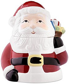 Santa Cookie Jar, Created for Macy's