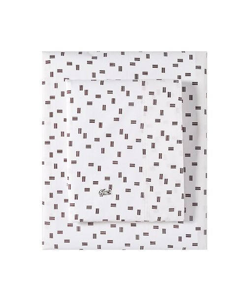 Lacoste Home Lacoste Raster Queen Sheet Set