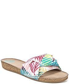 Moshi Slide Flat Sandals
